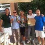Premiazione Torneo Tennis al C.T. CRB BOLOGNA con bottiglie di Olife alle prime coppie classificate