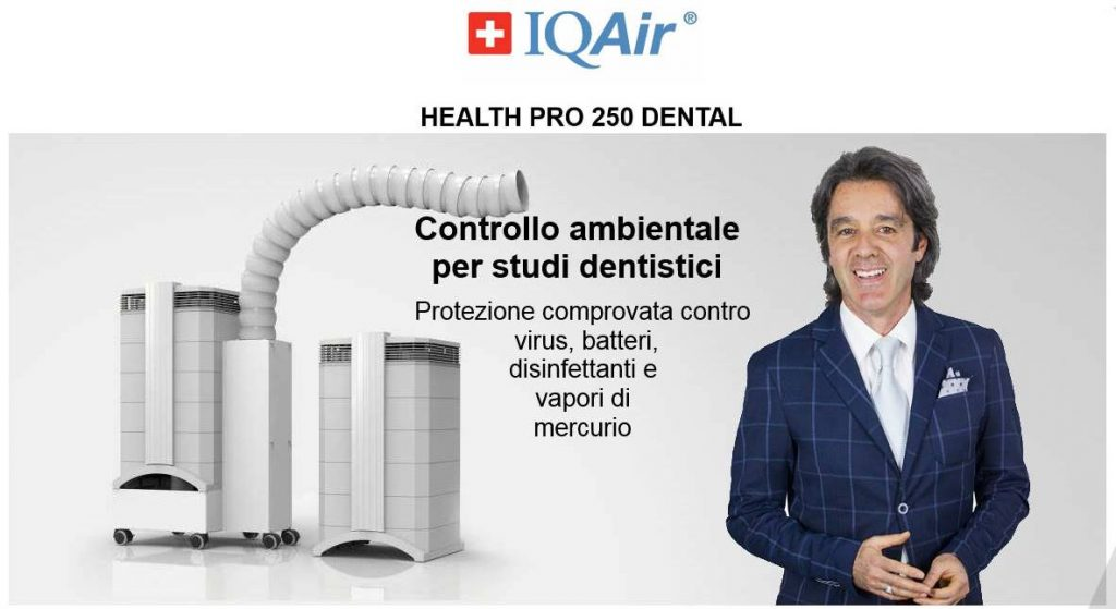IQAIR Purificatori Dental Nicola Cartura