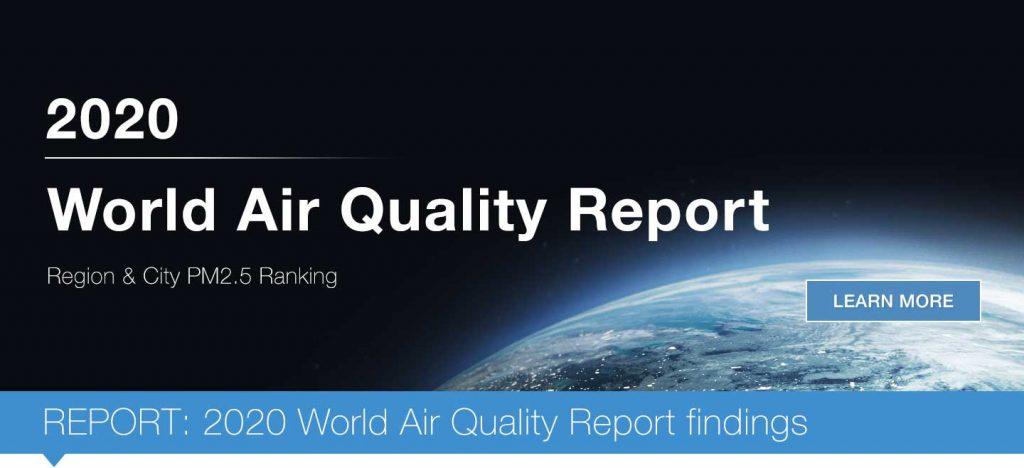 IQAir: Report qualità dell'Aria 2020